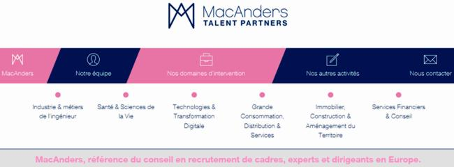 17 MacAnders Talent Partners