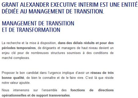 20 Grant Alexander Interim Executive