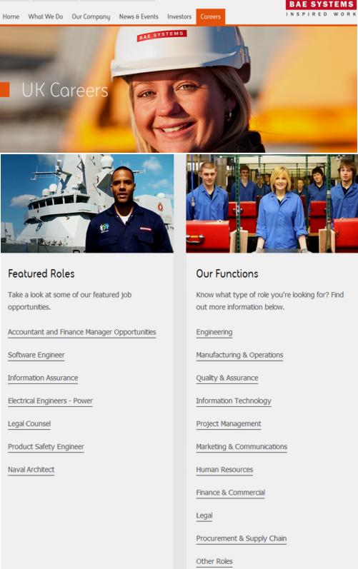 16 BAE Systems Careers