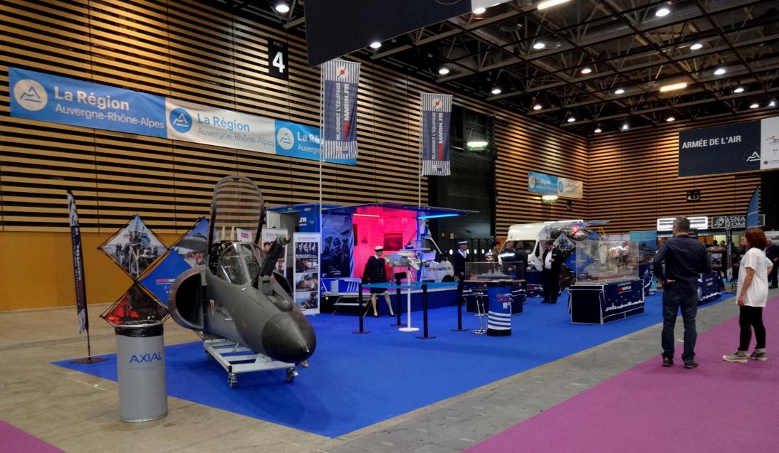 19 Salon Lyon Mondial Metiers Marine Nationale