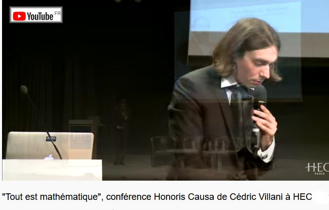20 Youtube HEC Conference Cedric Villani Maths